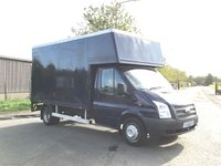 USED 2013 13 FORD TRANSIT 2.2 350 DRW 1d 124 BHP LUTON / TAIL-LIFT