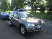 USED 2008 03 SUZUKI GRAND VITARA 1.6 VVT PLUS 3d 105 BHP