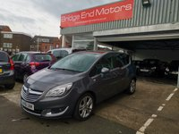 USED 2016 16 VAUXHALL MERIVA 1.4 SE 5d 118 BHP ONLY 4960 MILES FROM NEW WITH ALLOYS AIR CONDITIONING EXCELLENT ECONOMY AND LOW  INSURANCE GREAT VALUE FOR MONEY