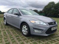 2012 FORD MONDEO 2.0 ZETEC TDCI 5d AUTO 138 BHP £5495.00