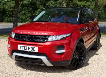 2012 LAND ROVER RANGE ROVER EVOQUE 2.2 SD4 DYNAMIC LUX 5d AUTO 190 BHP/ SAT NAV/ HEATED SEATS £16925.00
