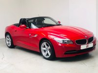 USED 2014 14 BMW Z4 2.0 Z4 SDRIVE18I ROADSTER 2d AUTO 155 BHP ONLY 20,000 MILES + HEATED LEATHER + AUTOMATIC + BMW HISTORY