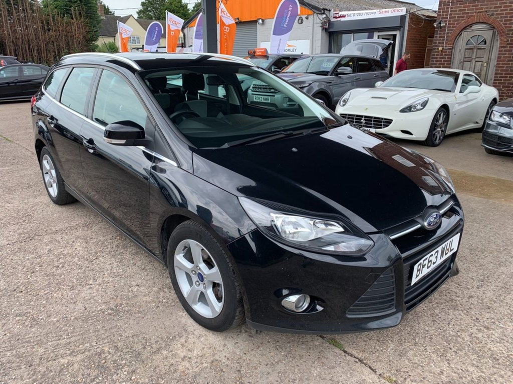 Ford Focus Zetec Navigator Econetic TDCI Start/Stop £4,490