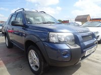 USED 2006 06 LAND ROVER FREELANDER 2.0 TD4 FREESTYLE 5d AUTOMATIC 1 YEAR MOT