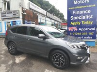 2016 HONDA CR-V 1.6 IVTEC SE 120BHP PLUS 2WD, ONLY 26000 MILES £13995.00