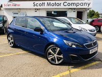 USED 2017 17 PEUGEOT 308 2.0 Blue HDI S/S GT 5 door Automatic 178 BHP