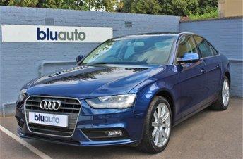 2014 AUDI A4 2.0 TDI SE TECHNIK 4d 174 BHP £10980.00