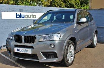 2013 BMW X3 XDRIVE 2.0D M SPORT 5d AUTO 181 BHP £17420.00