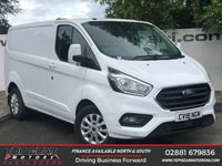 USED 2018 18 FORD TRANSIT CUSTOM 300 2.0 130 BHP LIMITED P/V L1 H1**CHOOSE FROM OVER 85 VANS**