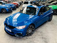 USED 2016 16 BMW 4 SERIES 2.0 420d M Sport xDrive 2dr PERFORMANCE KIT PLUS PACK 19S