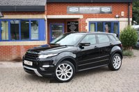 USED 2012 12 LAND ROVER RANGE ROVER EVOQUE 2.0 SI4 DYNAMIC 5d AUTO 240 BHP 1 Owner Full Land Rover Service History!