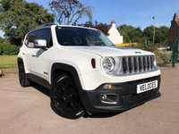 USED 2015 15 JEEP RENEGADE 1.4L LIMITED 5d 138 BHP ASCARI DESIGN PACK