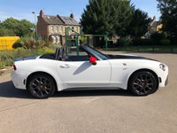 USED 2017 17 ABARTH 124 1.4 SPIDER MULTIAIR 2d 168 BHP ..BALANCE OF MANUFACTURES WARRANTY.