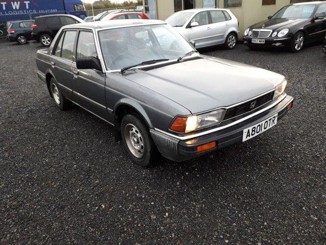 1983 A HONDA ACCORD 1.6 4G EX 4d 80 BHP BARAN FIND COLLECTORS/CLASSIC CAR