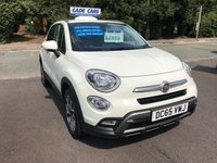 USED 2015 65 FIAT 500X 1.6 MULTIJET CROSS 5d 120 BHP Buy with confidence from a garage that has been established  for 26 years.