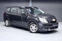 2012 CHEVROLET ORLANDO 2.0 VCDI LT 5d AUTO 163 BHP £4975.00
