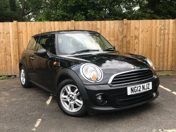 2012 MINI HATCH ONE 1.6 ONE 3d 98 BHP £5495.00