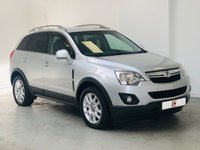 USED 2012 62 VAUXHALL ANTARA 2.2 EXCLUSIV CDTI 4WD 5d 161 BHP GOOD VALUE, FINANCE AND PART EX AVAILABLE