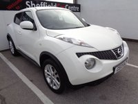 USED 2013 13 NISSAN JUKE 1.6 ACENTA PREMIUM 5d AUTO 117 BHP £175 A MONTH WITH NO DEPOSIT ALLOY WHEELS CLIMATE CONTROL SAT NAV PARKING SENSORS PRIVACY GLASS