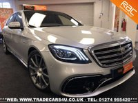 USED 2018 18 MERCEDES-BENZ S CLASS S63L AMG 4.0 V8 BITURBO EXECUTIVE LWB UK DELIVERY* RAC APPROVED* FINANCE ARRANGED* PART EX