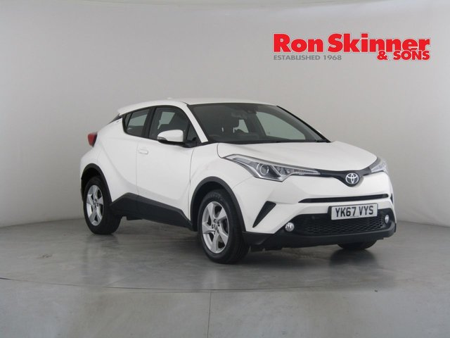 View our 2017 67 TOYOTA CHR 1.2 ICON 5d 114 BHP
