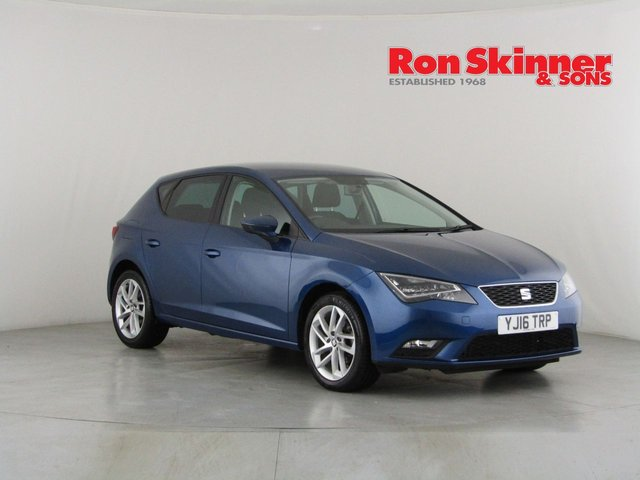 View our 2016 16 SEAT LEON 1.6 TDI SE DYNAMIC TECHNOLOGY DSG 5d AUTO 109 BHP