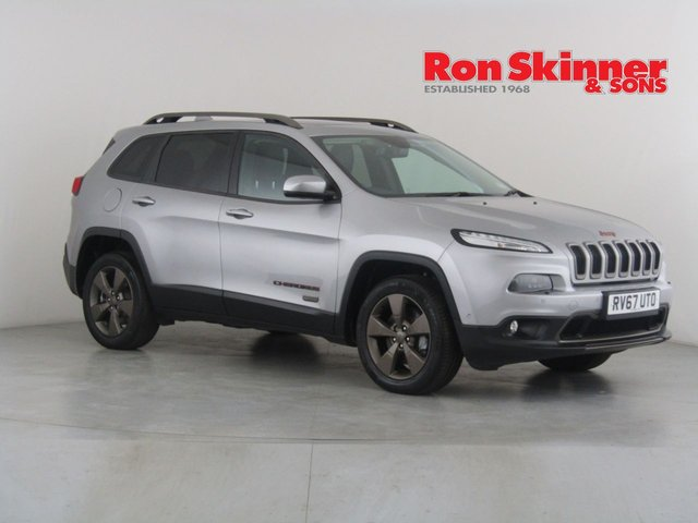 View our 2017 67 JEEP CHEROKEE 2.2 M-JET II 75TH ANNIVERSARY 5d AUTO 197 BHP