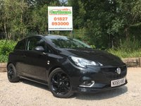 USED 2015 65 VAUXHALL CORSA 1.4 LIMITED EDITION 3dr Cruise, 1 Owner, Black Alloys