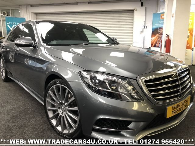 2016 MERCEDES-BENZ S CLASS S350d L AMG LINE LIMO LWB 9G-TRONIC WITH EXECUTIVE PACKAGE