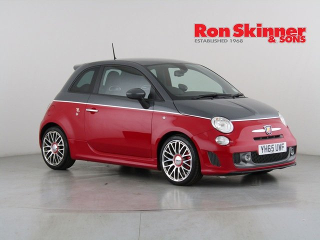 View our 2015 65 ABARTH 500 1.4 595 TURISMO 3d 158 BHP with Grey Roof