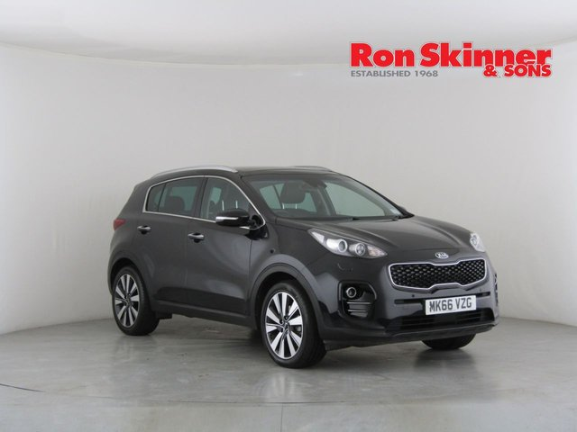 View our 2016 66 KIA SPORTAGE 1.7 CRDI 4 ISG 5d 114 BHP