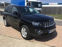 2013 JEEP COMPASS 2.4 NORTH 5d AUTO 168 BHP £7000.00