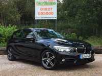 USED 2016 66 BMW 1 SERIES 1.5 118I SPORT 3dr AUTO Sat Nav, Keyless, Cruise, PDC