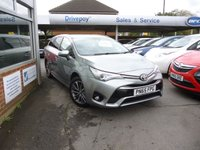 USED 2015 65 TOYOTA AVENSIS 1.8 VALVEMATIC BUSINESS EDITION PLUS 5d AUTO 145 BHP NEED FINANCE? WE CAN HELP!
