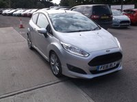 USED 2016 16 FORD FIESTA 1.0 ZETEC S 3d 124 BHP Great Low Miles Fiesta / Free Road Tax / Good Service History and Long MOT!