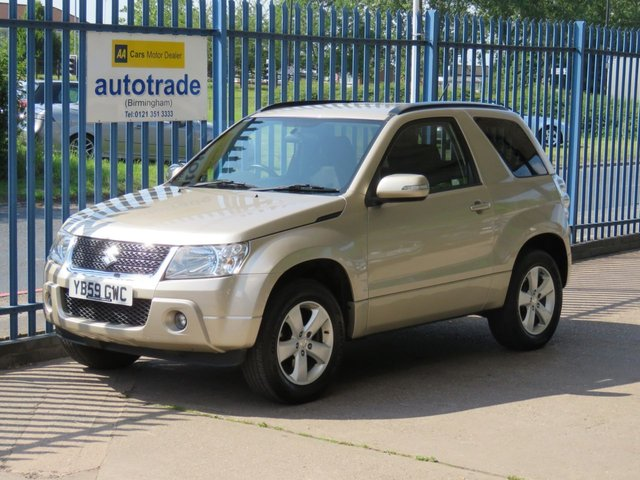 USED 2010 59 SUZUKI GRAND VITARA 2.4 SZ4 3d 165 BHP Climate Control, Rear Parking Sensors Finance arranged Part exchange available Open 7 days