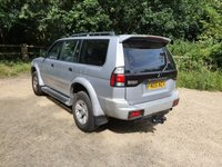 USED 2005 05 MITSUBISHI SHOGUN SPORT 2.5L EQUIPPE TD 5d 115 BHP SUNROOF SUNROOF - ELECTRIC PACK - RAC WARRANTY - NATIONWIDE DELIVERY