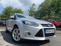 2014 FORD FOCUS 2.0 TITANIUM NAVIGATOR TDCI 5d 139 BHP £5890.00