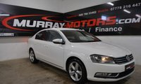 USED 2012 VOLKSWAGEN PASSAT 2.0 SE TDI BLUEMOTION TECHNOLOGY 4DOOR 139 BHP CANDY WHITE