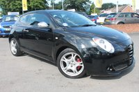 USED 2012 12 ALFA ROMEO MITO 1.4 TB MULTIAIR DISTINCTIVE 3d 135 BHP ONLY 2 OWNERS FROM NEW - JUST SERVICED - LONG MOT