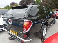 USED 2014 63 MITSUBISHI L200 2.5 DI-D 4X4 BARBARIAN LB DCB 1d 175 BHP+NO VAT NEW MOT+NEW SERVICE+NO VAT TO PAY