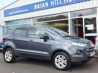 USED 2016 16 FORD ECOSPORT 1.0 Eco-Boost  ZETEC 5dr (124bhp) .........ONE OWNER. FULL FORD SERVICE HISTORY. LIKE NEW THROUGHOUT.