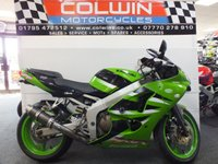 USED 2002 02 KAWASAKI ZX-6R 599cc ZX636A  PART EX TO CLEAR!!!