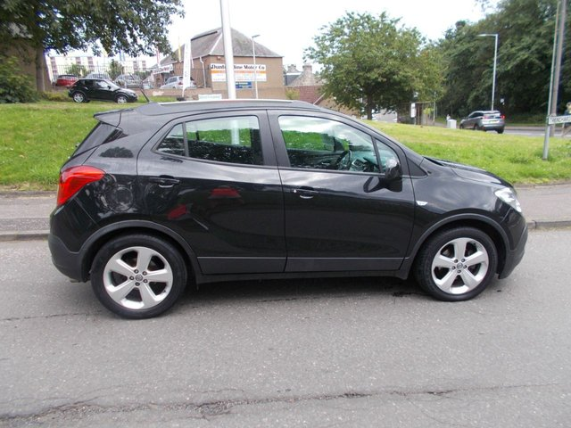 USED 2012 62 VAUXHALL MOKKA 1.7 EXCLUSIV CDTI S/S 5d 128 BHP ++LOW MILEAGE DIESEL WITH SERVICE HISTORY+FREE 6 MONTHS BREAKDOWN COVER++