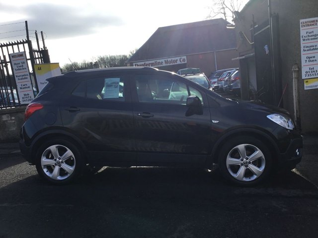 USED 2012 62 VAUXHALL MOKKA 1.7 EXCLUSIV CDTI S/S 5d 128 BHP ++LOW MILEAGE DIESEL WITH SERVICE HISTORY+12 MONTHS AA BREAKDOWN COVER++