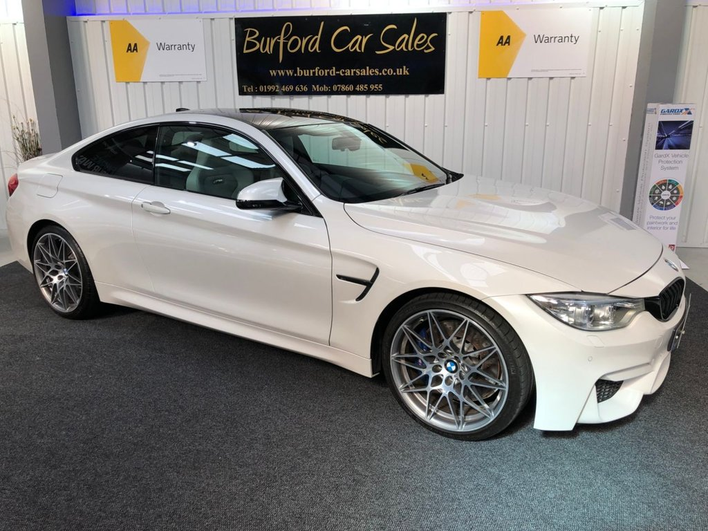 USED 2016 66 BMW M4 3.0 M4 COMPETITION PACKAGE 2d AUTO 444 BHP