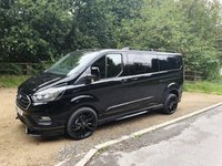 USED 2018 18 FORD TRANSIT CUSTOM 2.0 320 LIMITED FACTORY DCB 6d 130BHP 6 SEATS RS STYLE 20