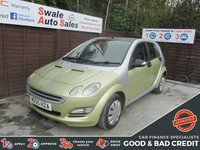 USED 2005 55 SMART FORFOUR 1.1 PULSE RHD 5d 74 BHP SEE FINANCE LINK FOR DETAILS