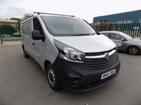 USED 2015 15 VAUXHALL VIVARO 1.6 2900 L2H1 CDTI P/V ECOFLEX 1d 89 BHP ***Nationwide Delivery Available***