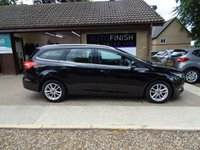 USED 2016 16 FORD FOCUS 1.5 ZETEC TDCI 5d 94 BHP * 1 KEEPER FROM NEW * ZERO ROAD TAX * 2 KEYS * DAB RADIO * SAT-NAV *
